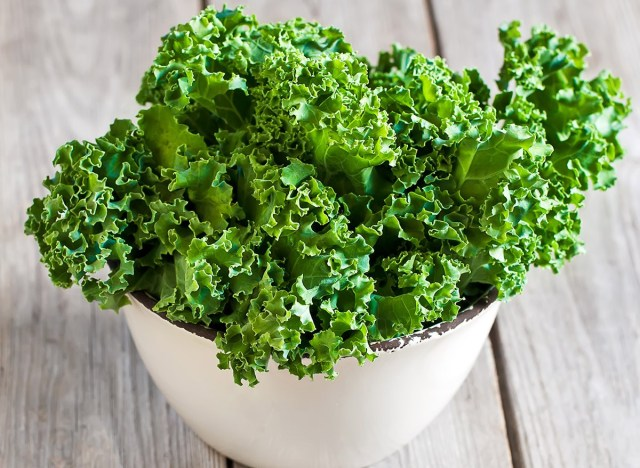 kale in a bowl
