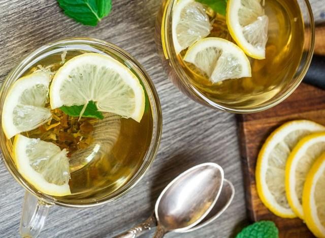 Weight loss lemon tea - headache foods