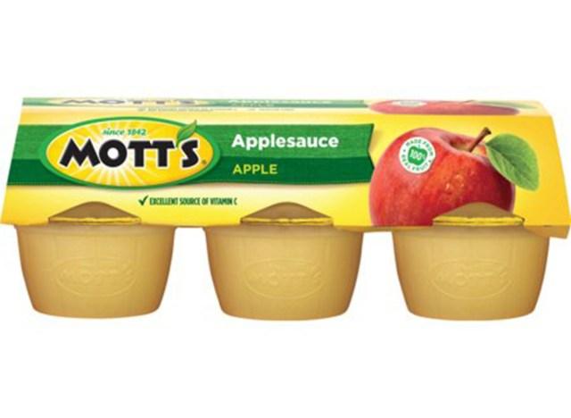 mott's-apple-sauce