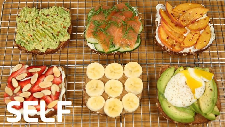 How To Make 6 Healthy Breakfast Toasts For Weight Loss