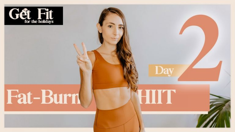 DAY 2: BURN TONS OF CALORIES HIIT WORKOUT (Get Fit for The Holidays Challenge)