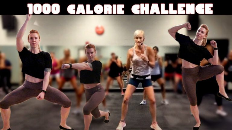 1000 Calories Burning Workout Challenge At Home
