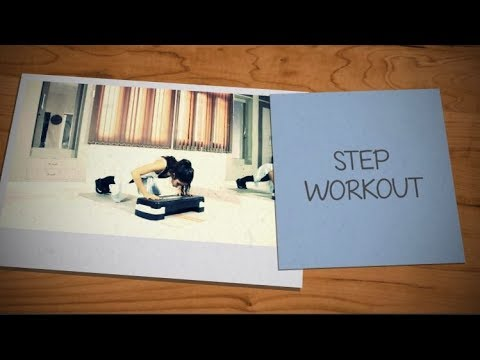 FULL BODY STEP WORKOUT VIDEOS 2018   CALORIE   FITNESS   BURNING   HOME WORKOUT VIDEOS