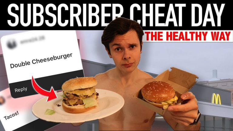 Eating My Subscribers Favourite CHEAT MEALS // Healthy Cheat Day + Subscriber Superset Workout